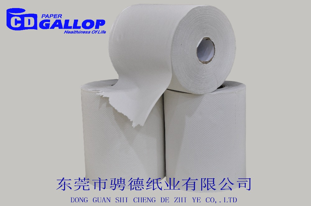 20cm customized bulk embossed hand cleaning paper towel roll of high quality