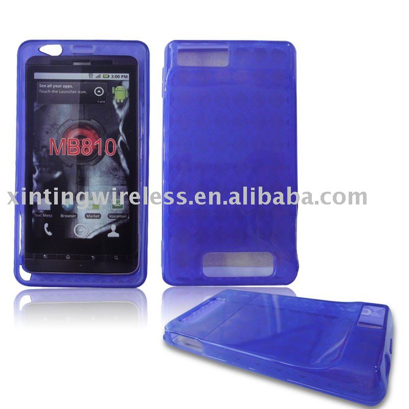 Lozenge Venis TPU Case for Motorala MB810