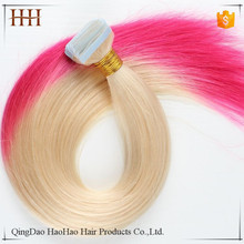 Fast shipping hot selling african american human tape hair extensions
