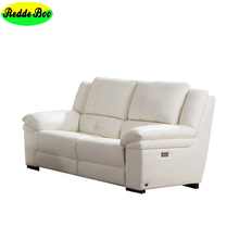 Manufacturer living room 1+2+3 seater leather italy leather sofa