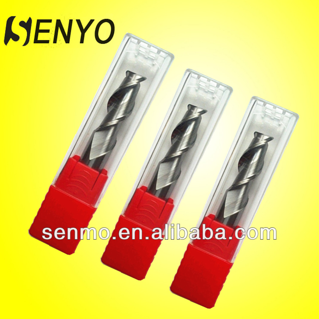 Senyo High Precision Hard Tools Corner Rounding End Mills/Solid Carbide Round Dowel End Mills Foe CNC Machine/End Mill Part