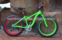 wholesale 26*4.0 alloy material fat tire beach cruiser bicycle