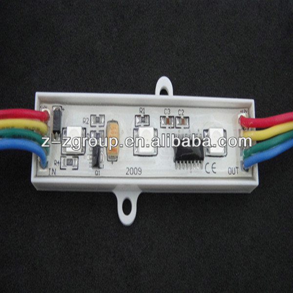 2 lights /3 lights 3528 display rgb LED pixel module