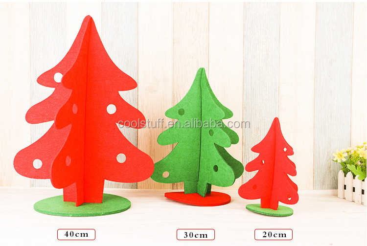 New fashion felt tree,star and beel shaped wholesale christmas decorations/christmas decoration/christmas tree/christmas gift