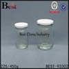 wholesale clear glass embossed 16oz mason jar malaysia