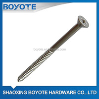 Stainless Steel 304 DIN7505 Chipboard Screws (A2-70)