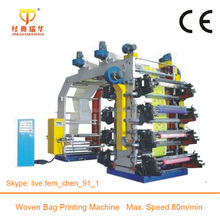 Letterpress Plate 8 Colors Flex Board Printing Machine Printing Paper