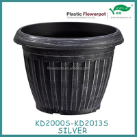 KD2000S-KD2013S Antique plastic plant flower pots