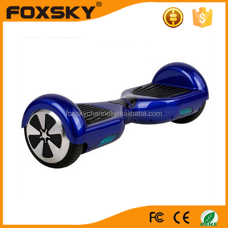 "Self Balancing Scooter Two 6.5"" Wheel Self Balance Electric Hoverboard Drifting Personal Transporter Mini Unicycle"