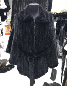 hot sale hand made high quality plus size long style best quality sable real knit mink fur coat with prices in beijing