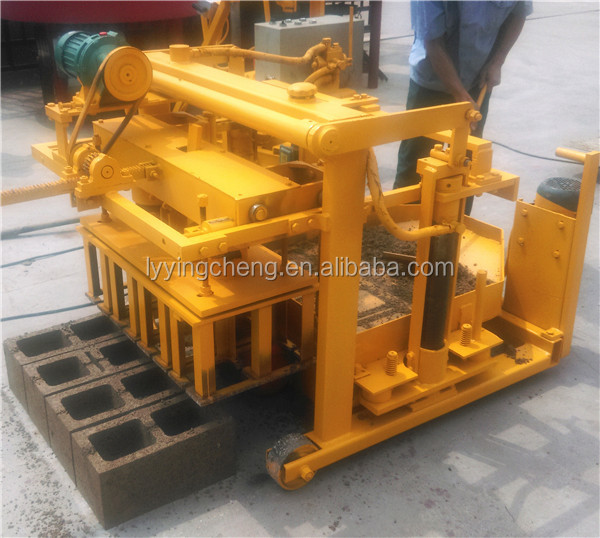 cost of concrete block making machine