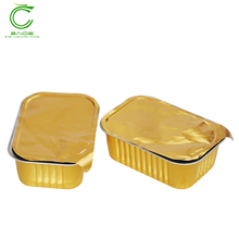 Durable aluminium foil aluminium foil container disposable food 8389 lid