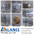 Fiber Optic End Fitting for ceiling fittings