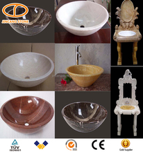 2016 new design carved stone basin for bathroom