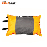 Lightweight Camping & Backpacking Pillow, Comfortable Foam Compressible Self Inflatable Pillow for Travel, Hiking, Airplanes