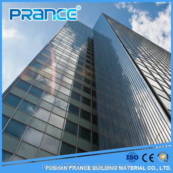 Coherent aluminum glass curtain wall manufacturers