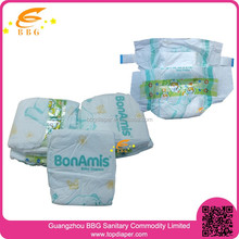 Dry surface absorption OEM brand disposable european baby diapers stocklots