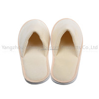 Most comfortable hotel slipper close toe women indoor slipper terry room slipper