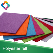 Anti-Static 100% polyester needle craft colorful sheet felt for DIY product