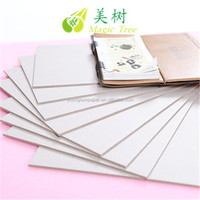 Single Side White Clay Coated Grey Back Duplex Board Paper Card