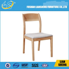 Modern Solid wood fabric dinning chair -#DC008-M3