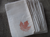 New Design useful muslin cotton fall or autumn gift bags