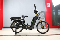 2016 hot sale cheap pedal assist electric cargo used scooter
