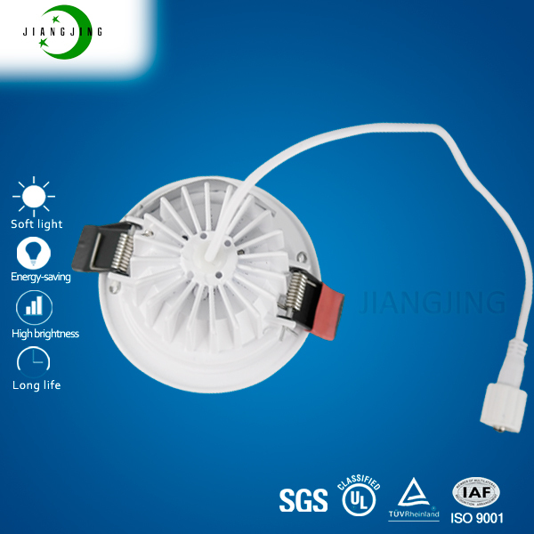 hot sale EMC EMI TUV approved brightness dimmable color changeable 10W led downlights