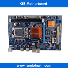 Hot selling X58 1366 socket motherboard