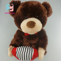 Stuffing bears stuffed animals plush soft toy with heart