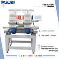 FUWEI big sale computerized double heads cap embroidery machine with good price and best quality