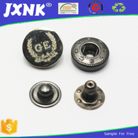 Fashion factory outlet metal snap button /snap fastener