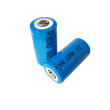 Low self discharge ICR16340 cylindrical rechargeable li-ion battery