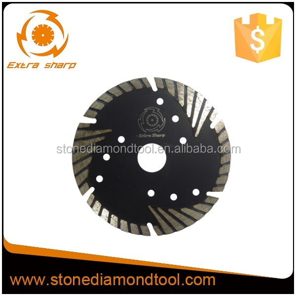 5 inch 125mm Protected Segment Diamond Blade Granite Cutting Disc