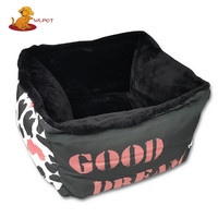 Factory Directly Provide New Style China Supplier Luxury Plush Pet Bed