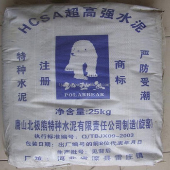 Sulfate Resistant Cement CSA Cement
