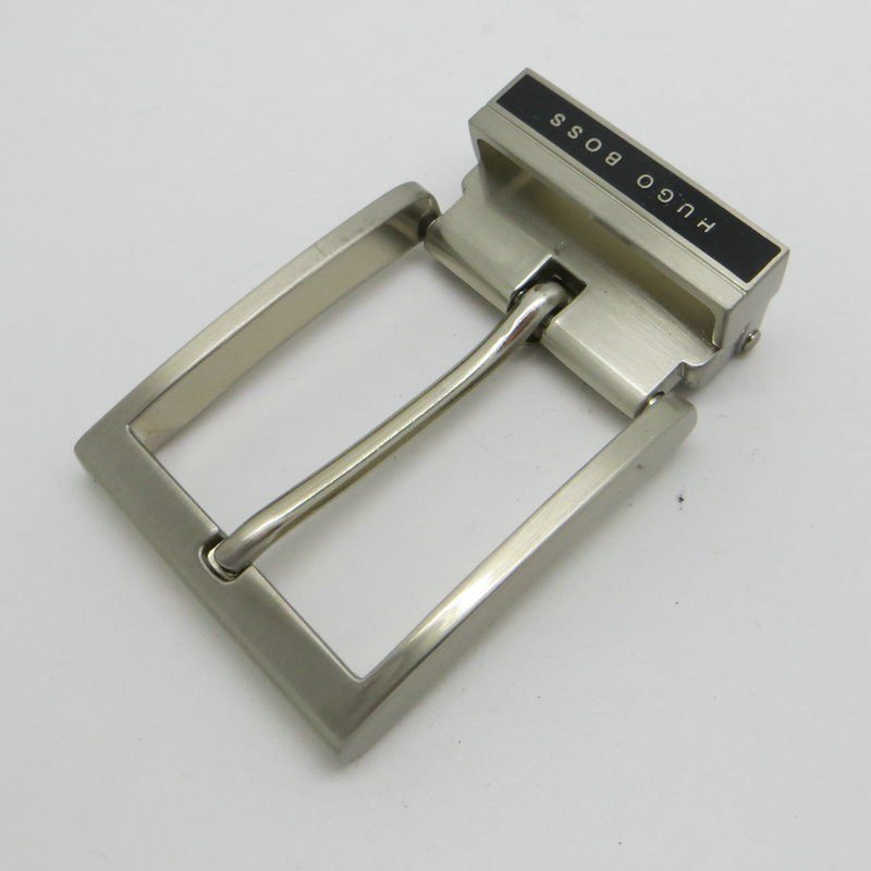 High quality cheap fashion design metal pin belt buckle with clips