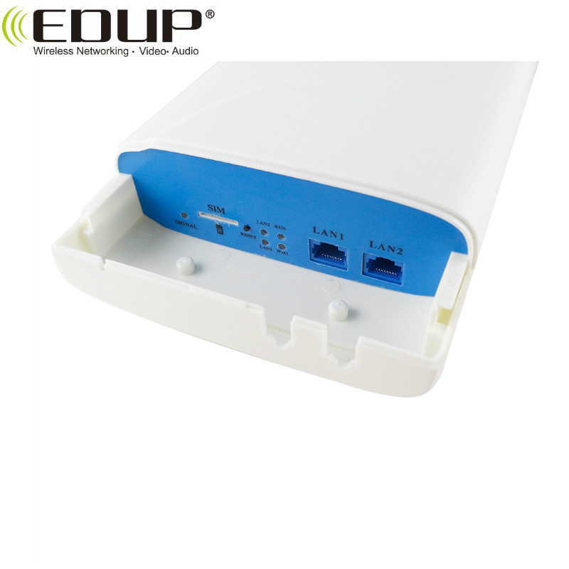 EDUP 300Mbps 2.4GHz Brand Outdoor Wireless 4G LTE CPE With SIM Card Slot