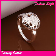 Neon jewellry artificial rings new design