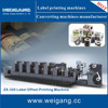Auto 6 color label offset lithographic printing press price , offset manufacturer