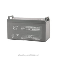 PLA Maintenance Free 12V 120ah Solar Power Battery for UPS