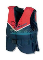 BlueStorm Champ Soft navy red offshore life jacket