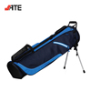 Light Weight Custom Carry Strap Golf Sunday Pencil Bag with Stand Attachment