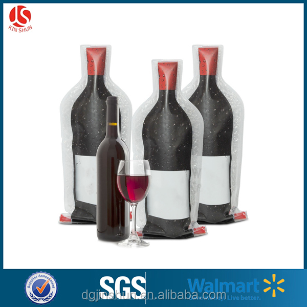 Leakproof Reusable Wine Bottle Travel Protector Bags / Sleeves