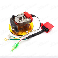 Motorcycle Magneto Stator Rotor Ignition CDI Box Kit For Engine Chinese Lifan YX Pit Dirt Bike Racing Inner Rotor Kit