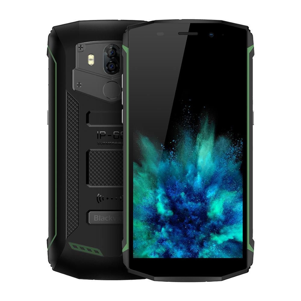Wholesale Blackview BV5800 5580mAh IP68 Waterproof Smartphone NFC Quad Core <strong>Android</strong> 8.1 Cell <strong>Phone</strong>