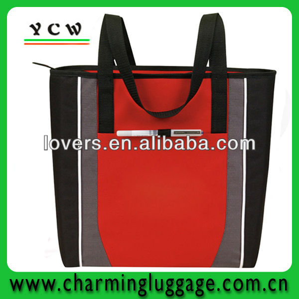 Zip Tote fashion shopping tote bag