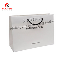 Luxury cosmetic packaging shopping bag paper