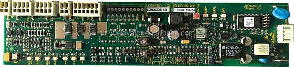 Schindler Elevator PC Board 591864