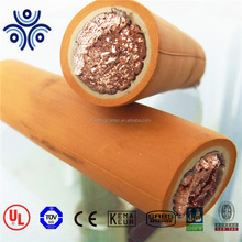 China 16mm2 copper core neoprene flexible rubber h01n2-d welding cable